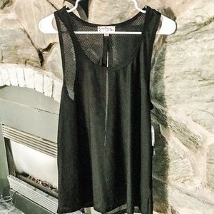 Jessica Simpson The Warm Up Black Work Out NWT